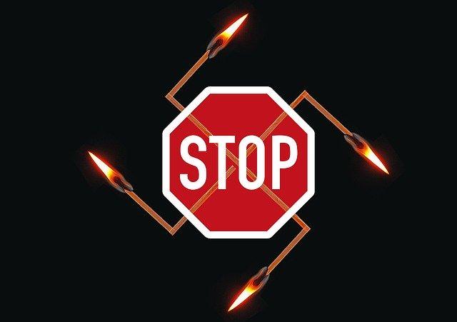Stop ilustrácia