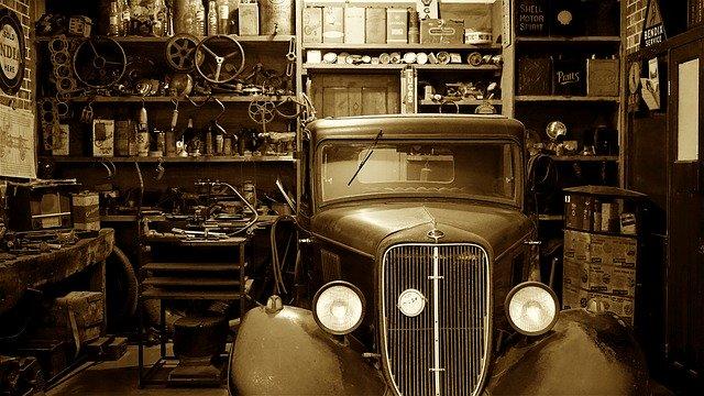 starodávne auto